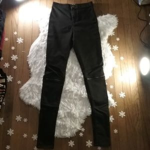 ASOS Rivington High Waist Skinny Jeans